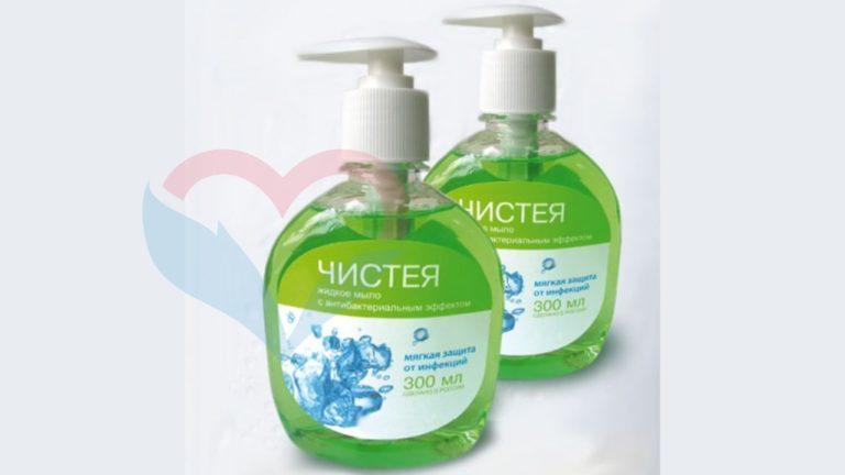 Чистея Мыло жидкое с антибактериальным эффектом 0