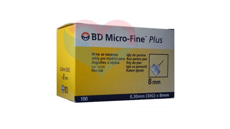 Игла BD Micro-Fine Plus для шприц-ручки 30G (0