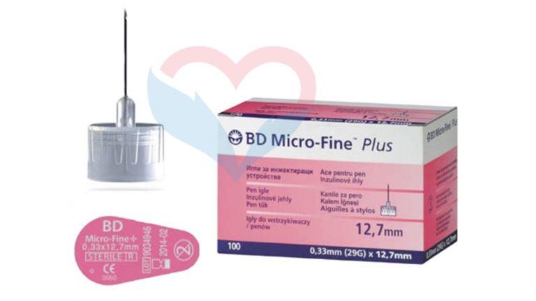 Игла BD Micro-Fine Plus для шприц-ручки 29G (0