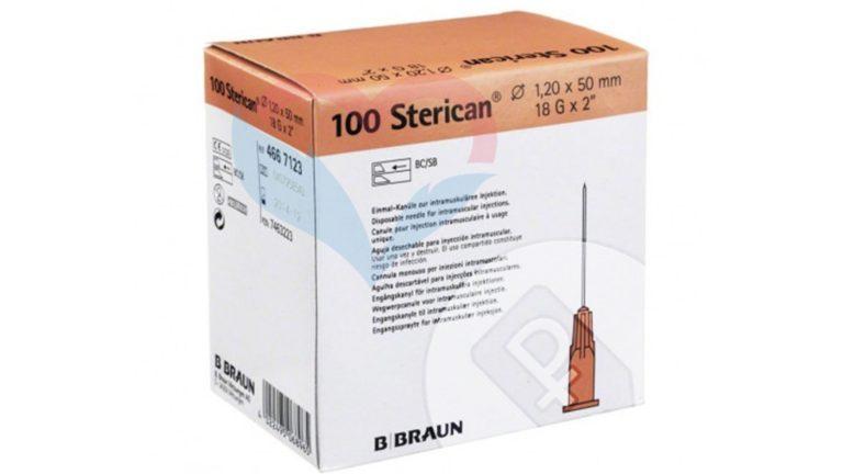 B.Braun Sterican Игла одноразовая инъекционная стерильная 18G (1.2 x 50 мм)