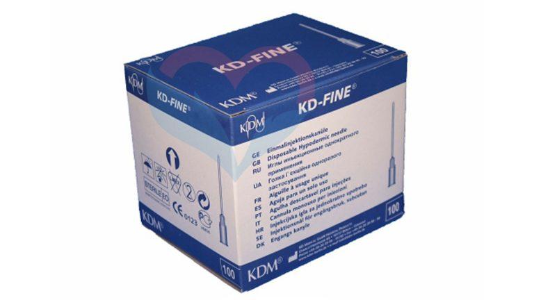 KD-Fine Игла одноразовая инъекционная стерильная 30G (0
