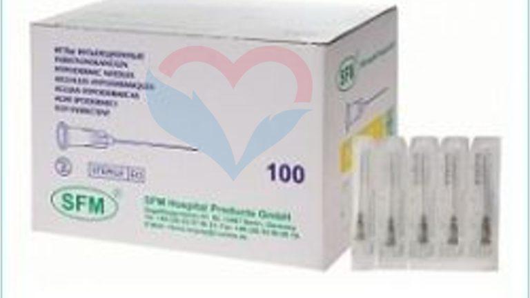 SFM Игла одноразовая инъекционная стерильная 21G (0