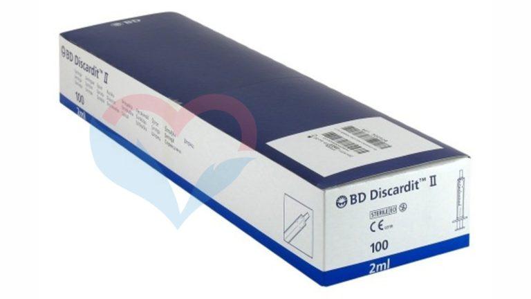 BD Discardit Шприц (2-х комп.) 2мл