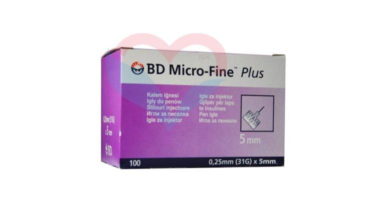 Игла BD Micro-Fine Plus для шприц-ручки 31G (0