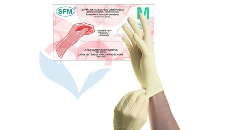 SFM Перчатки латекс