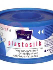 МАТОРАТ PLASTOPORE Гипоаллергенный фиксирующий пластырь из нетканого материала 5м. х 2