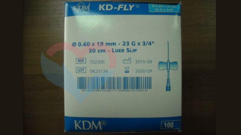 KD-Fly игла-бабочка 23G (0
