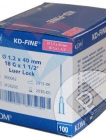 KD-Fine Игла одноразовая инъекционная стерильная 18G (1