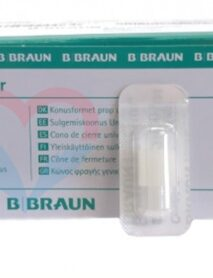B.Braun защитный колпачок Luer Lock белый