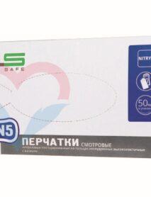 Clean+Safe №4 Перчатки нитрил