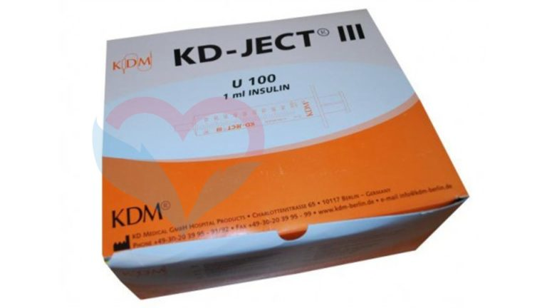 KD-Ject-3 Шприц (3-х комп.) 1мл U100
