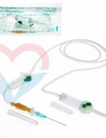 SFM Система инфузионная для переливания растворов (металл.шип)