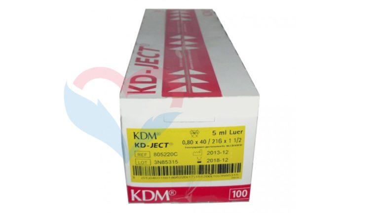 KD-Ject Шприц (2-х комп.) 5мл