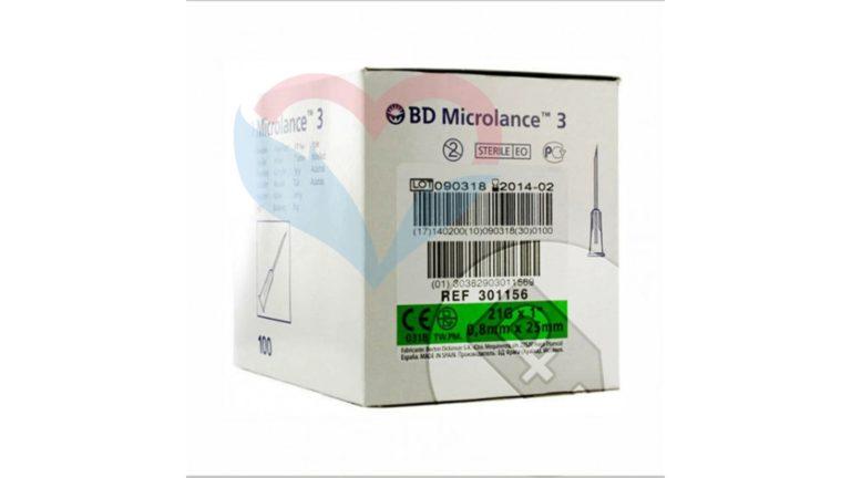 BD Microlance Игла одноразовая инъекционная стерильная 21G (0