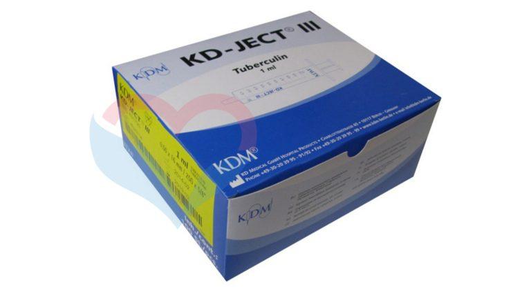 KD-Ject-3 Шприц (3-х комп.) 1мл
