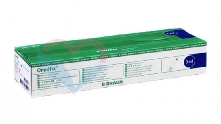 B.Braun Omnifix Шприц (3-комп.) 3мл