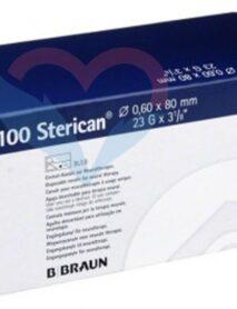 B.Braun Sterican Игла одноразовая инъекционная стерильная 23G (0