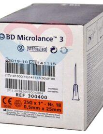 BD Microlance Игла одноразовая инъекционная стерильная 25G (0