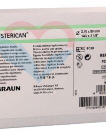 B.Braun Sterican Игла одноразовая инъекционная стерильная 14G (2.1 x 80 мм)