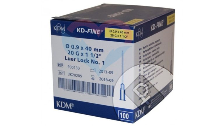 KD-Fine Игла одноразовая инъекционная стерильная 20G (0
