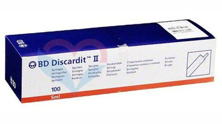BD Discardit Шприц (2-х комп.) 5мл