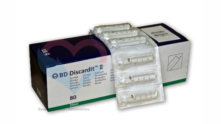 BD Discardit Шприц (2-х комп.) 20мл