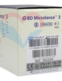 BD Microlance Игла одноразовая инъекционная стерильная 27G (0