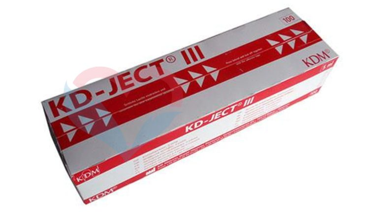 KD-Ject-3 Шприц (3-х комп.) 5мл