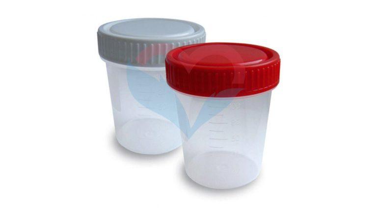 Перинт Контейнер одноразовый медицинский полимерный для сбора биоматериала