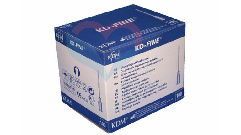 KD-Fine Игла одноразовая инъекционная стерильная 26G (0