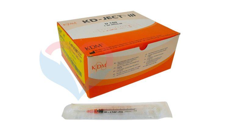 KD-Ject Шприц (3-х комп.) 1мл