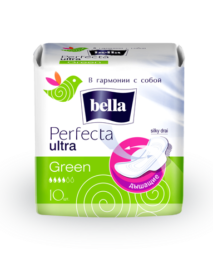 Bella Perfecta ultra Green Прокладки женские впитывающие супертонкие